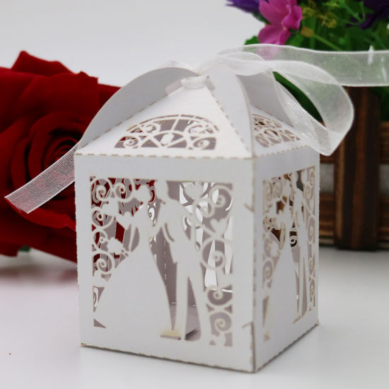 China wedding candy box wedding dress wedding box groom new year wedding candy box wedding dress wedding box groom new year pattern romantic wedding decoration junglespirit Image collections