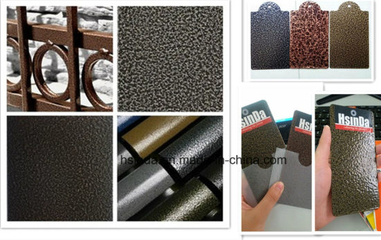 Ral Color Texture Hammer Pwoder Paint Coating pictures & photos
