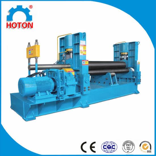 3 Rollers Mechanical Steel Rolling Machine (W11-6X1500 W11-8X2000 W11-16X3200)