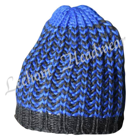(LKN14018) Winter Fashion Beanie Promotional Knitted Hat