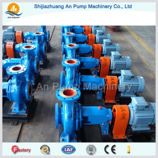 End Suction Industry High Efficiency Centrifugal Water Pump pictures & photos