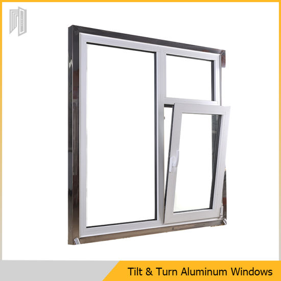 China Aluminium Frame Tilt and Turn Window Price with Double Glass ...