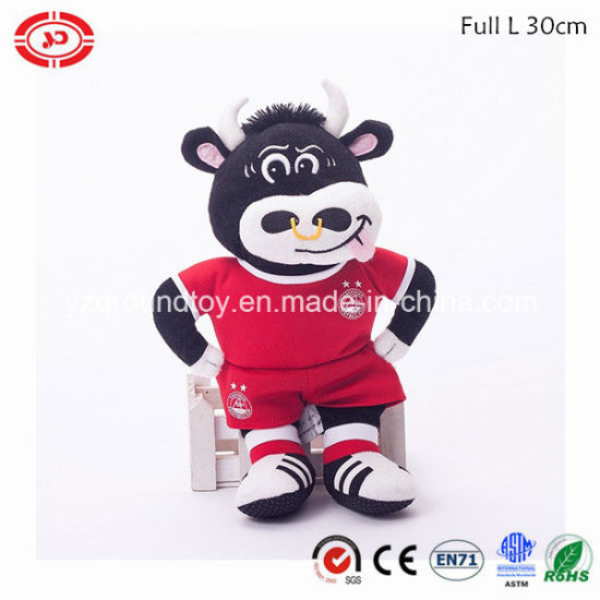Royal Cow Awards Plush Soft Toy Quality Gift with Coat
