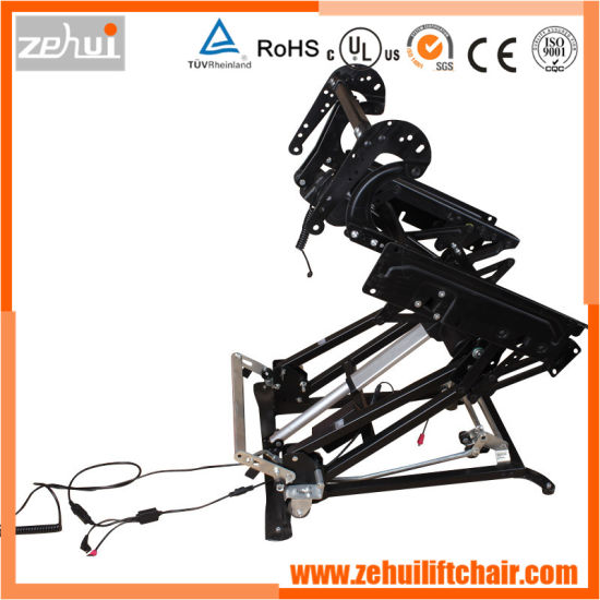 Lift Chair Recliner Mechanism with Linear Actuator (ZH8071) pictures & photos