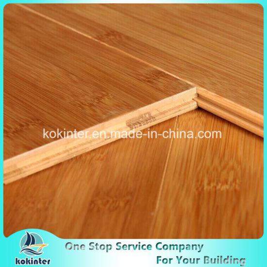 Bamboo Flooring/Carbonized Horizontal High Gloss 17mm