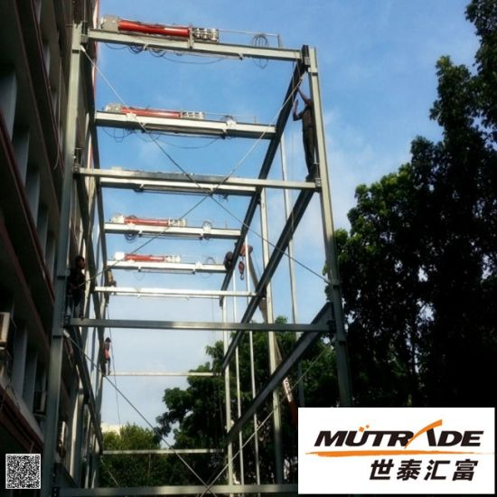 Vertical-Horizontal Puzzle Parking Mechanical Parking Lift pictures & photos