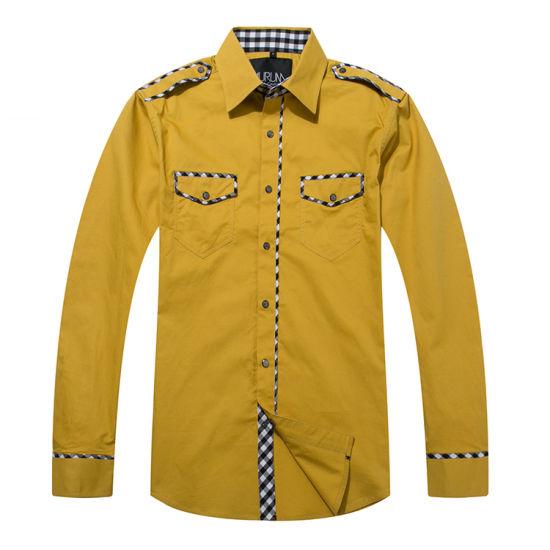 Customize New Design Men Casual Shirts