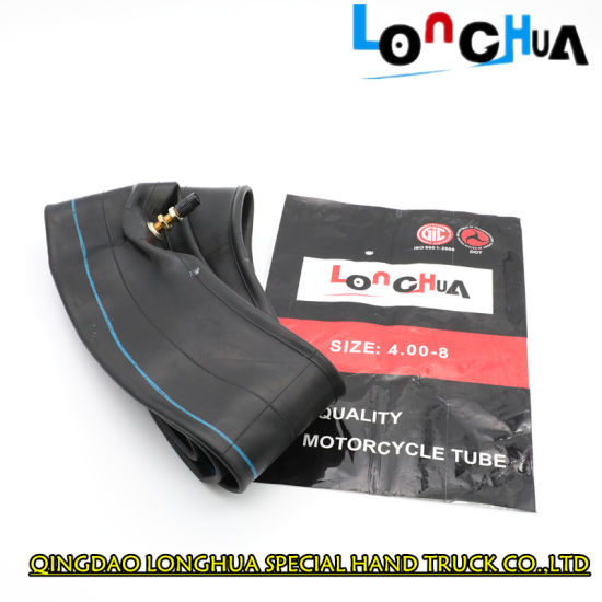 10-12MPa Natural Butyl Rubber Motorcycle Inner Tube (100/90-17)