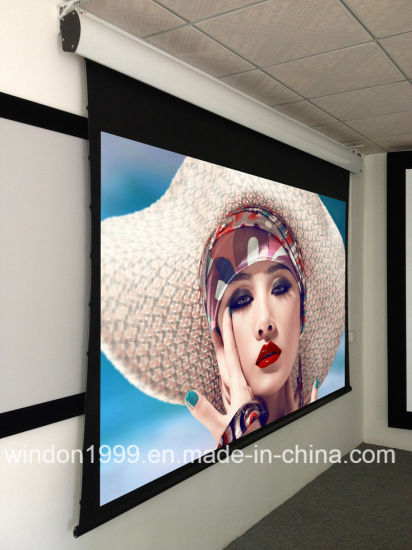 China Electric Projector Screen, Motorized Projection Screen