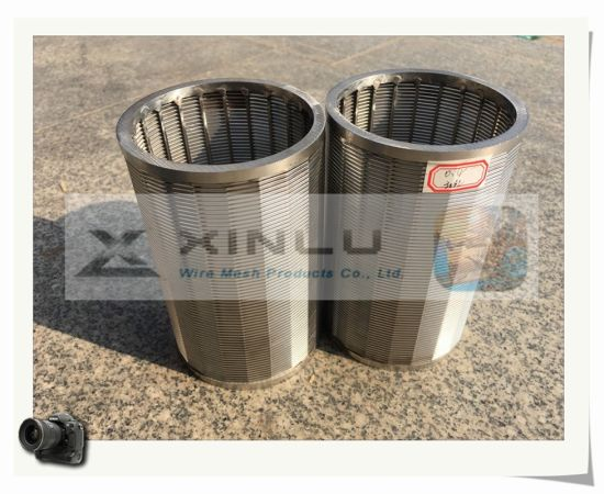 Continuous Slot Profile Wire Screen (ISO) pictures & photos