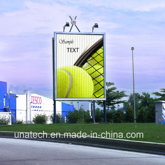 Outdoor Self-Adhesive Vinyl Tri-Vision Wall Mount Advertising Aluminium 3 Three Faces Media Billboard pictures & photos
