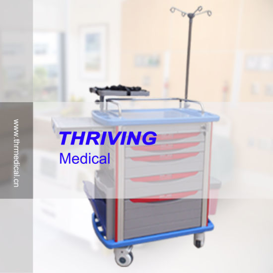 Thr-Et-8500ia Hospital Emergency Theatre Nursing Trolley pictures & photos