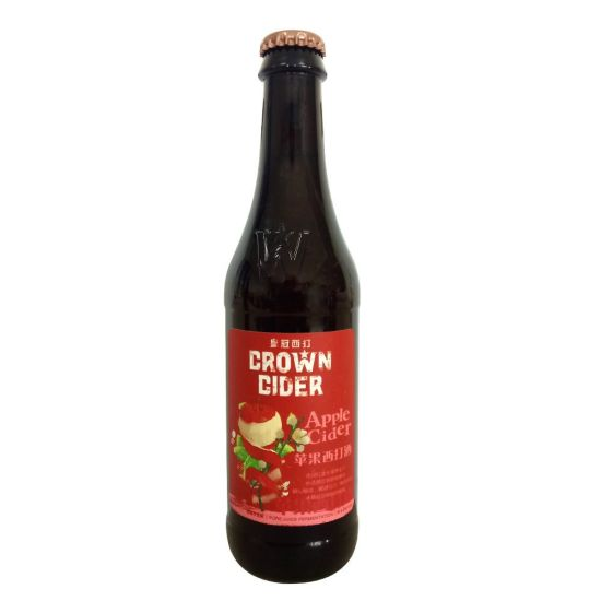330ml 1*24 Crown Apple Cider Brewed with Nature Apple Juice pictures & photos