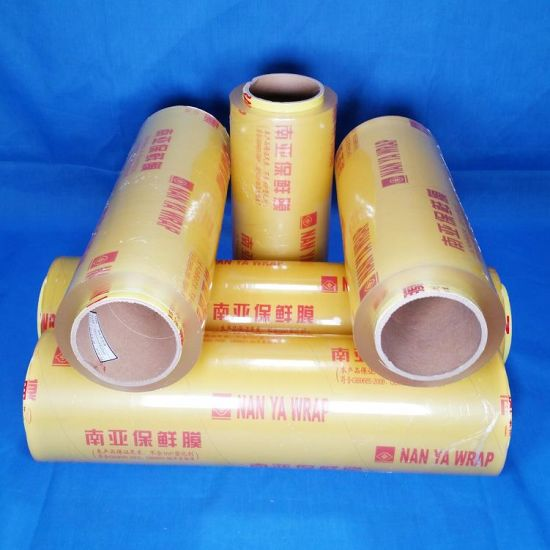 Clear Food Packing Film Food Grade PVC Cling Film/Plastic Wrap pictures & photos