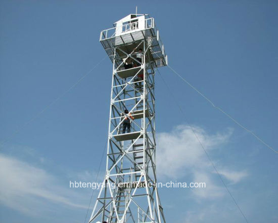 Hot DIP Galvanized Watch Guard Tower pictures & photos