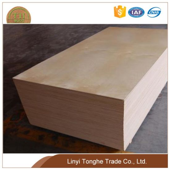 15mm, 18mm Best Price Commercial Grade Birch Plywood for Furniture pictures & photos