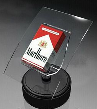 Custom Clear Acrylic Countertop Cigarette Display Stand pictures & photos