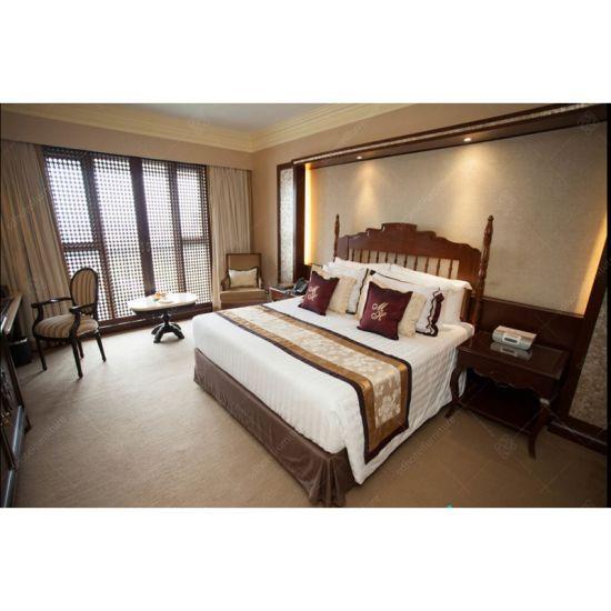 Philippines Vintage Furniture Carved Bed Room Bedrom Sets For Hotel