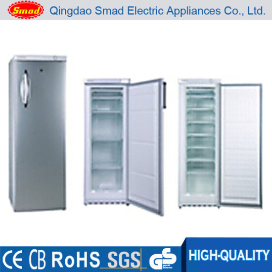Single Door Low Temperature Solid Door Upright Deep Freezer