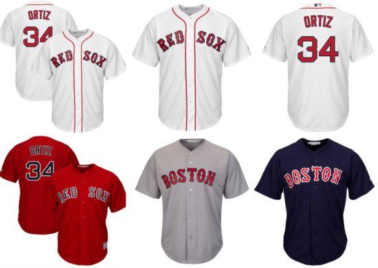 China Boston Red Sox David Ortiz Home Cool Base Baseball Jerseys ... 285d826b361