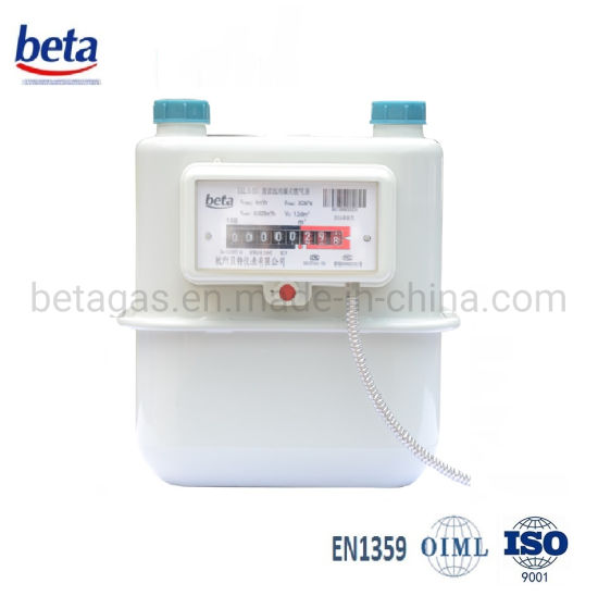 Remote / Pulse Diaphragm Gas Meter pictures & photos