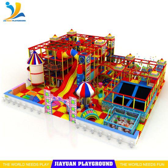 2019 Indoor Soft Playground Kids Zone Indoor Playground Equipment Toys for Children