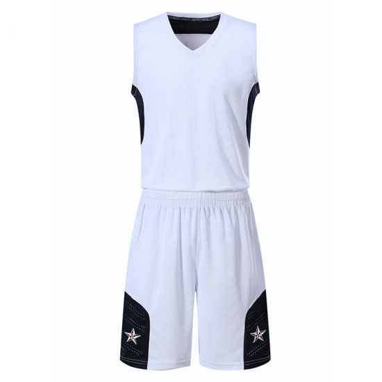 Fully Sublimation Custom Quick Dry Polyester Team Basketball Sport Wear