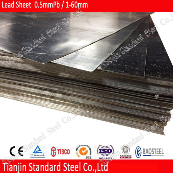 99.99% Pure Miled Lead Sheet Rolled Lead Sheet pictures & photos