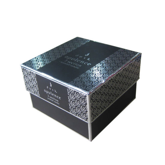 Custom Hot Stamping Lid and Base Cosmetic Gift Box