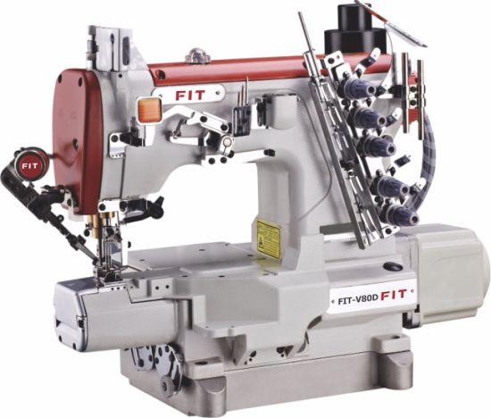 High Spead Cylinder Bed Interlock Sewing Machine Fit-V80d