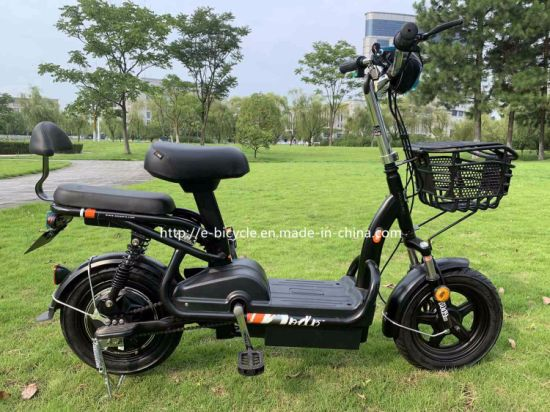 Mobility Battery Pedal Road Motorcycle Style Ebike Electric Powered Scooter