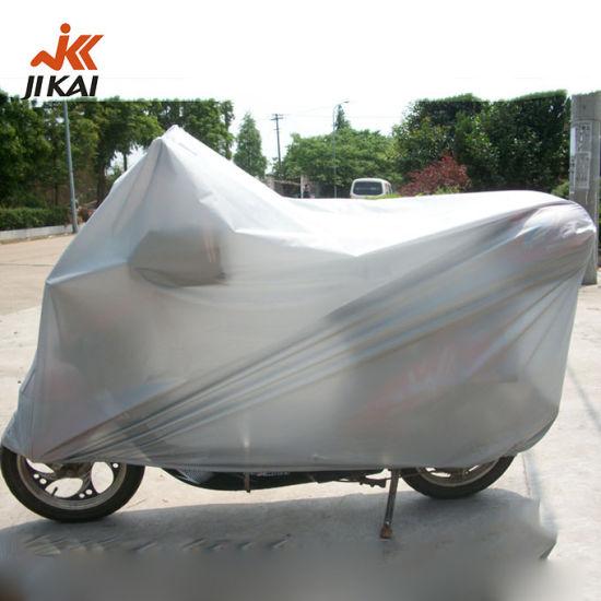 Motorbike Cover Wholesale PEVA Clear Plastic Waterproof Heated Motorcycle Cover