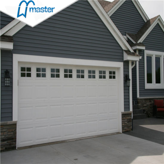 Wholesale 16X7 Automatic Security Insulated Steel Sectional Garage Door