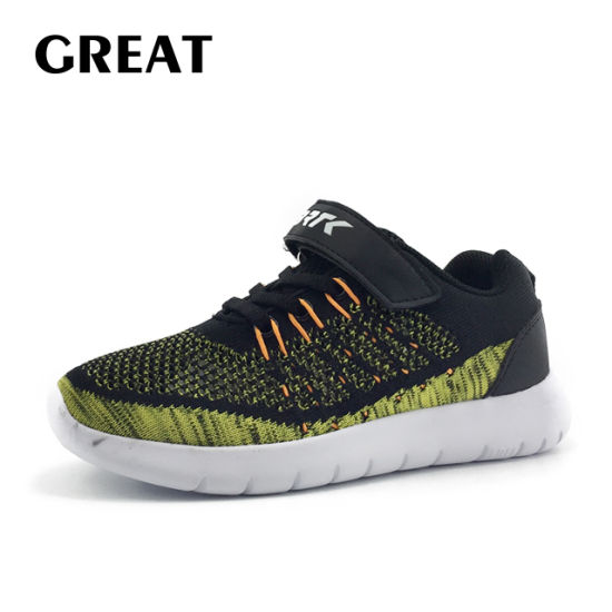 Greatshoe New Arrived Running Sports Sneaker Shoe Kid Running Shoes Children School Boy Shoes