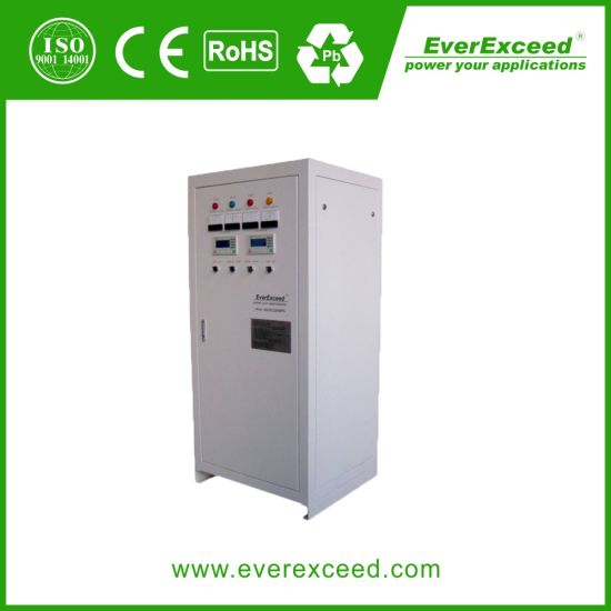 220VDC Battery Charger with High Frequency Switch Rectifier or with Thyristor Rectifier