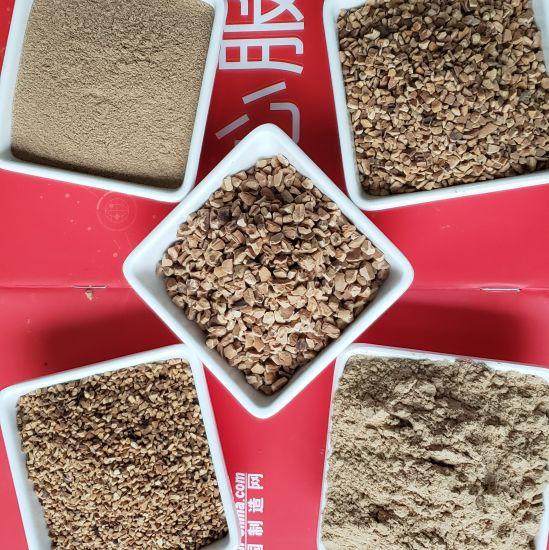 Cleaning Polishing Blasting Water Treatment Cosmetic Used Walnut Shell Abrasive