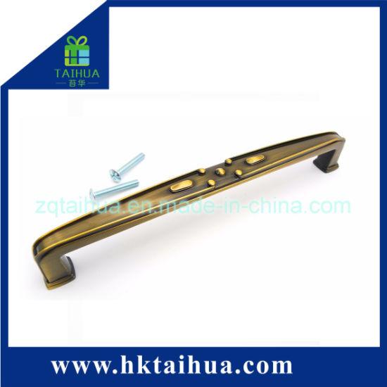 Wholesale Green Bronze Brush Line Furniture Handle