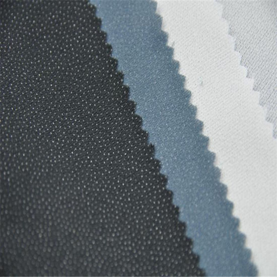 Woven Fusible Tricot Interlining Fabric for Lady's Wear