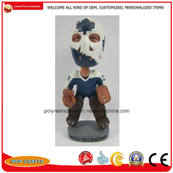Polyresin Bobble Head Gifts for Resin Bobblehead Promotion Crafts