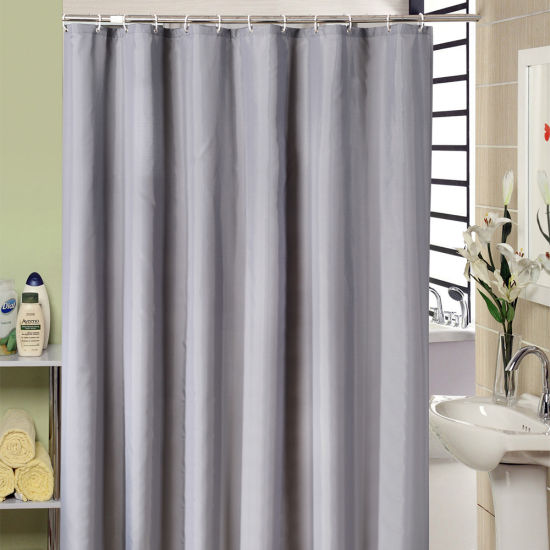 Eco Friendly Printed Polyester Fabric Bathroom Shower Curtain 17S0058