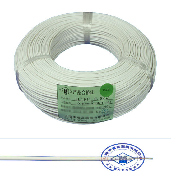China 10kv 20kv 50kv Teflon PFA High Voltage Wire - China UL1199 ...
