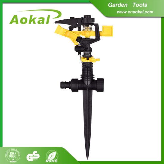"""1/2"""" Plastic Impulse Sprinkler Chinese Wholesale Sprinkler for Garden"""