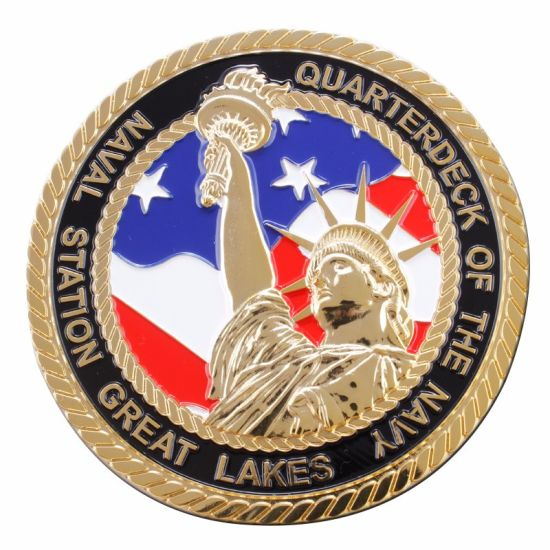 OEM Metal USA Marine Corp Challenge Coin (xd-9044) pictures & photos
