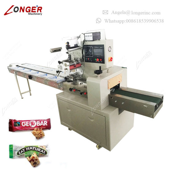 Professional Candy Bar Wrapper Granola Packaging Machine
