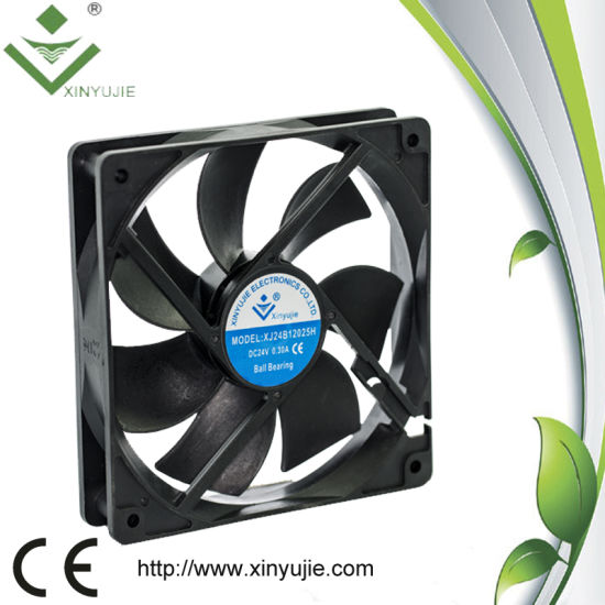 China 12V Hot Sale 12025 Laptop Lenovo Computer DC Axial Fans 12025