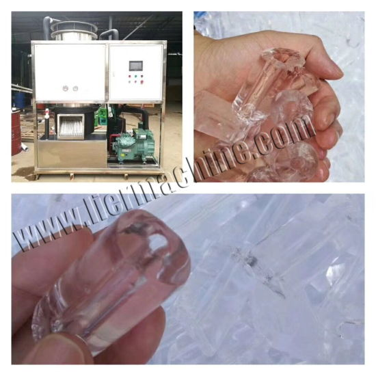 Ce Confirmed Edible Tube Ice Machine for Drinking and Wine (5T-20T) pictures & photos