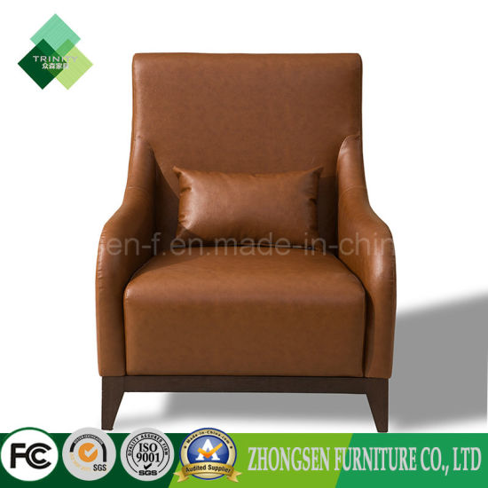Admirable French Style Chinese Supplier Leather Armchair For Living Squirreltailoven Fun Painted Chair Ideas Images Squirreltailovenorg