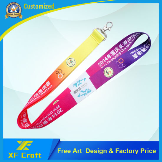 Professional Customized Heat Transfer Printing Lanyard with Lower Price for Promotion/Souvenir/Advertising Gift pictures & photos