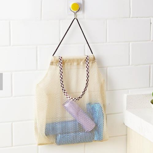 Washable Sustainable Recyclable Durable Fruits Vegetable Cotton Mesh Bag
