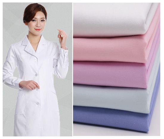 Tc Twill 32X32 130X70 Medical Hospital Uniform Fabric
